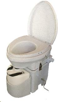 Natures Head self contained odorless compost toilet